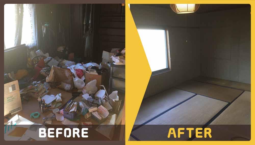 一軒家の家財道具一式やその他細々した日用品などの回収をご希望のお客様より、ご相談をいただきました。