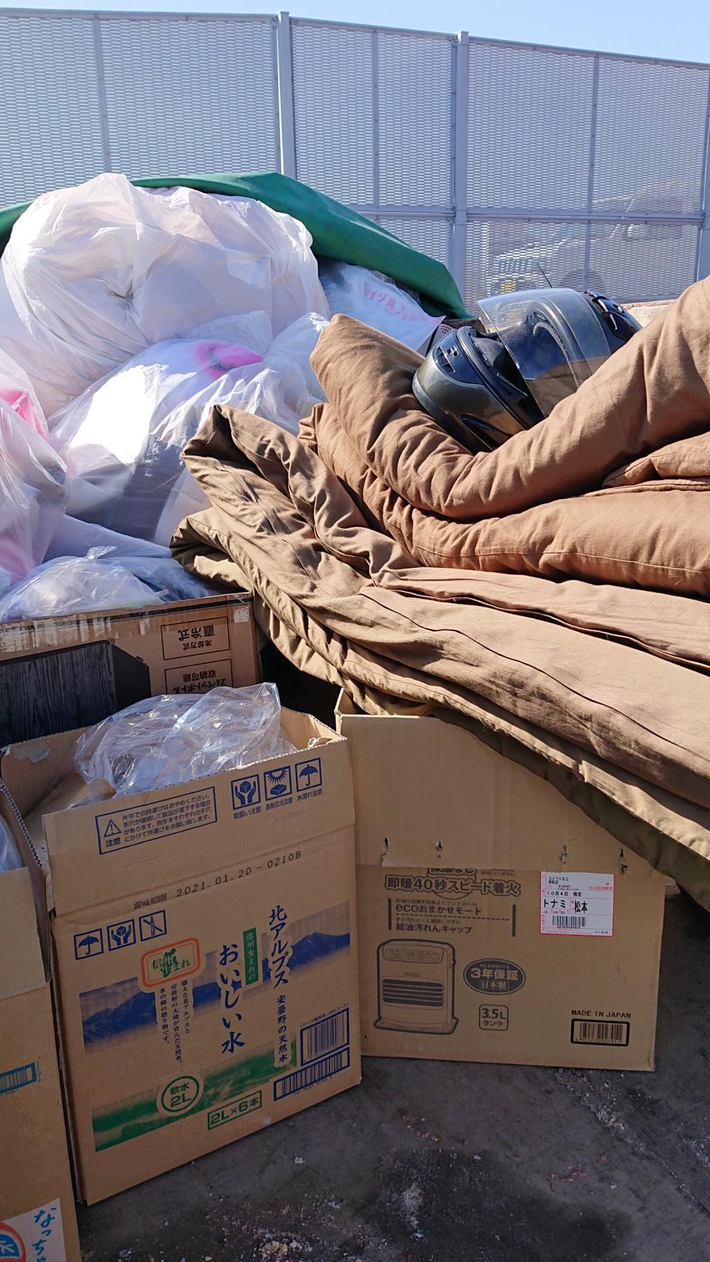 【高森町】布団や洗濯機の回収!軽トラ積み放題パックでご満足いただけました!