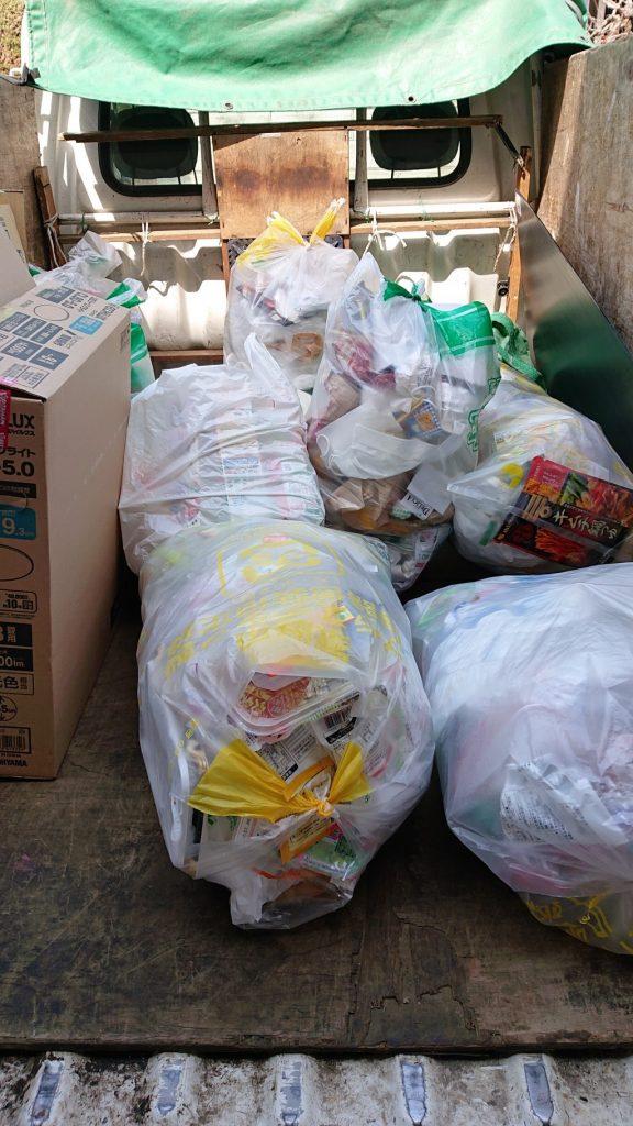 【長野市】家庭ゴミの回収ご依頼☆明確な料金にご満足いただけました!