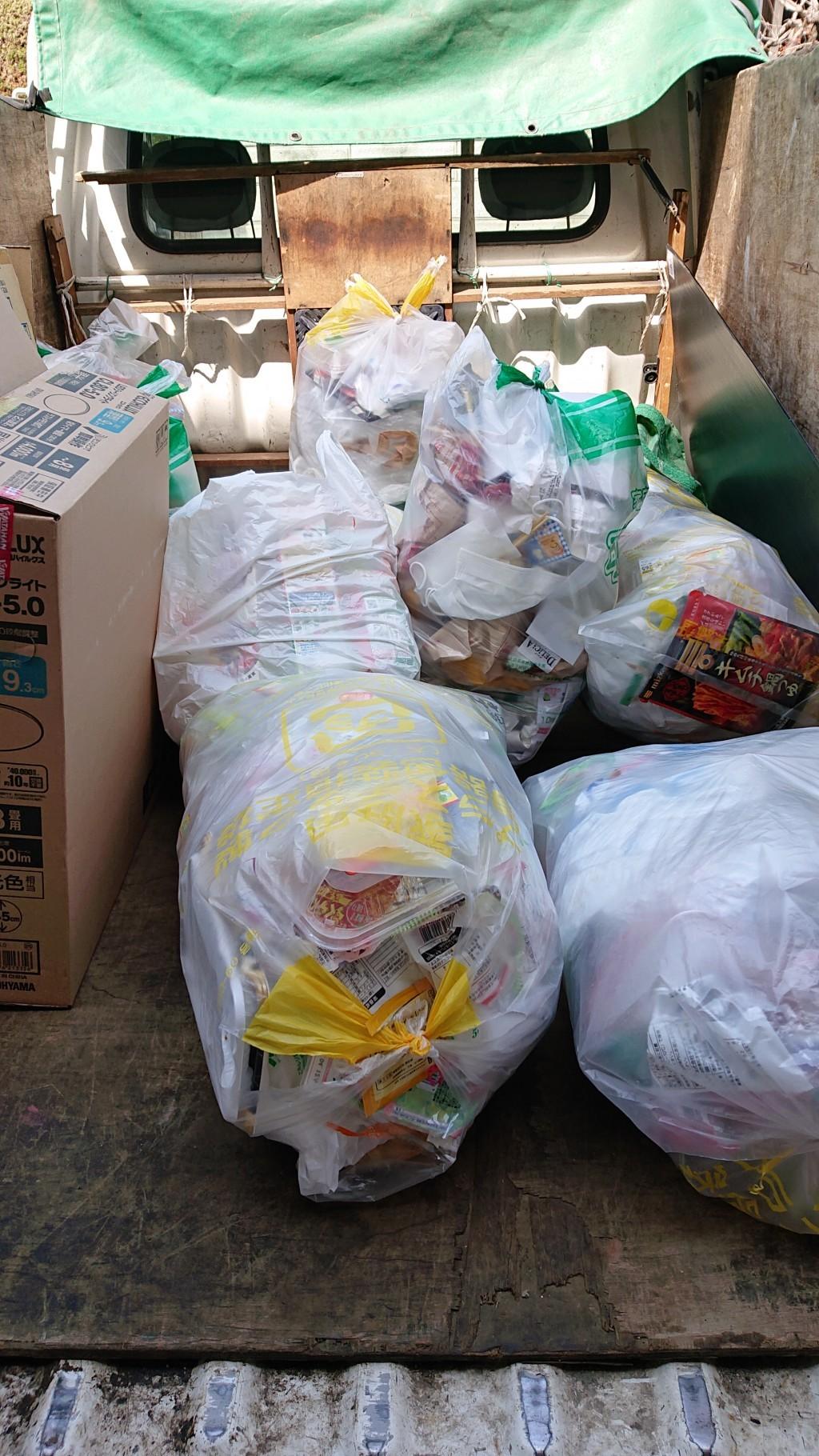 【東御市】家庭ゴミの回収ご依頼☆明確な料金にご満足いただけました!