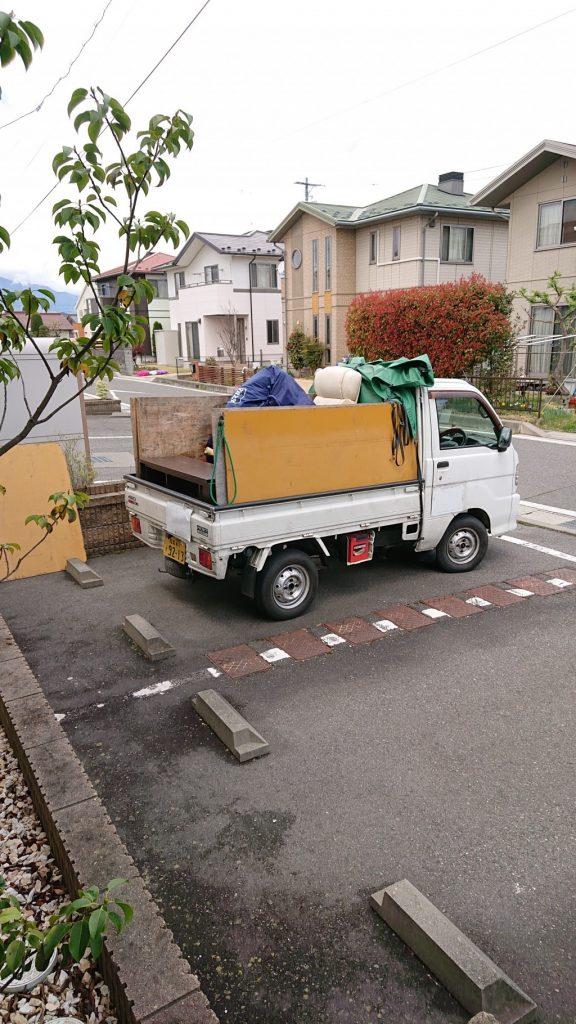 【松本市】遺品整理に伴いマットレスやオフィスチェアの回収処分ご依頼 お客様の声