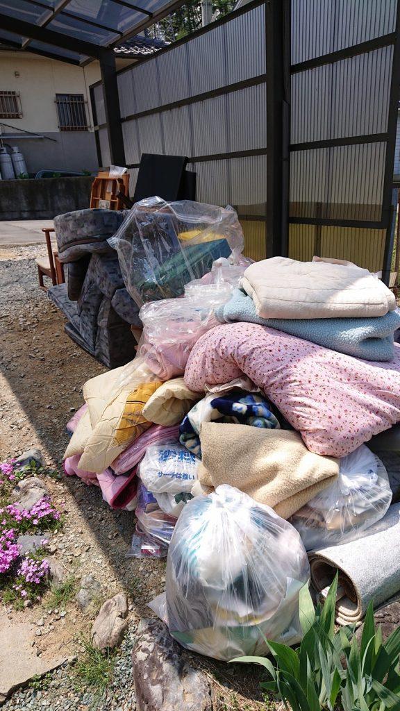 【佐久市】2tトラック一台分の不用品回収・処分ご依頼 お客様の声