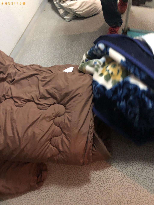 【長野市】カーペット、布団、クッション、枕の回収・処分ご依頼