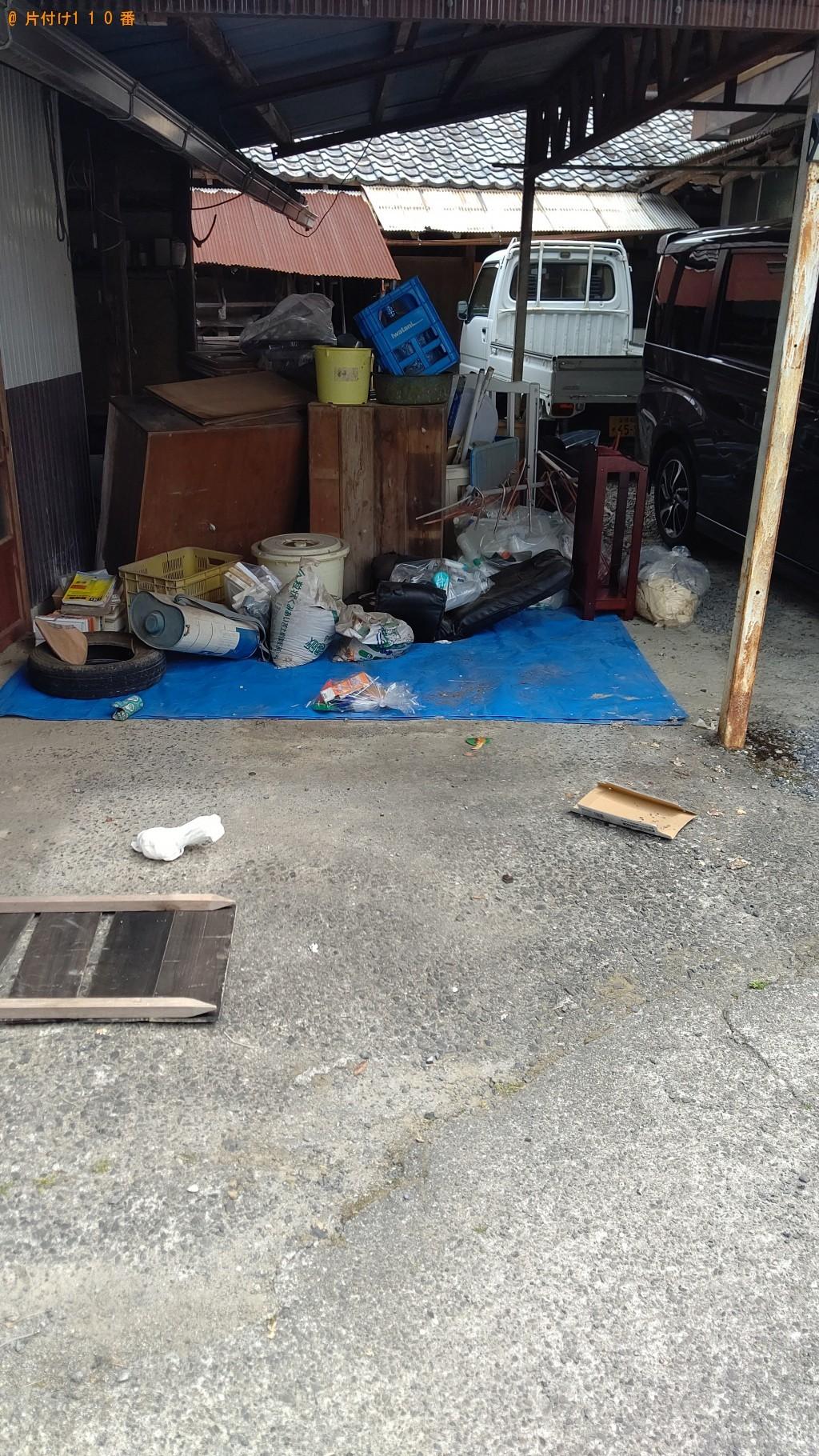 【長野市】2tトラック1台程度の出張不用品回収・処分ご依頼