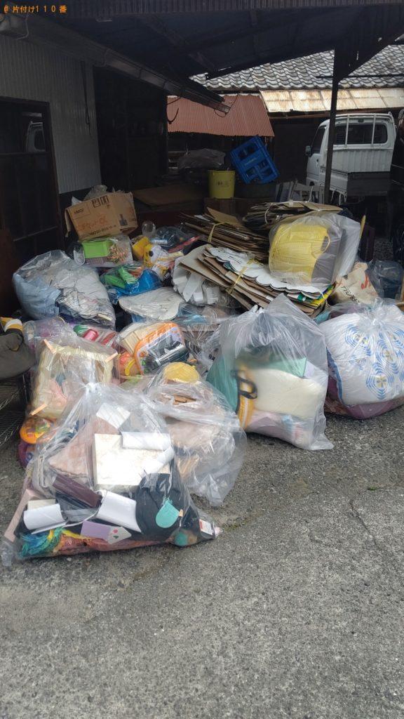 【飯田市】2tトラック1台程度の出張不用品回収・処分ご依頼