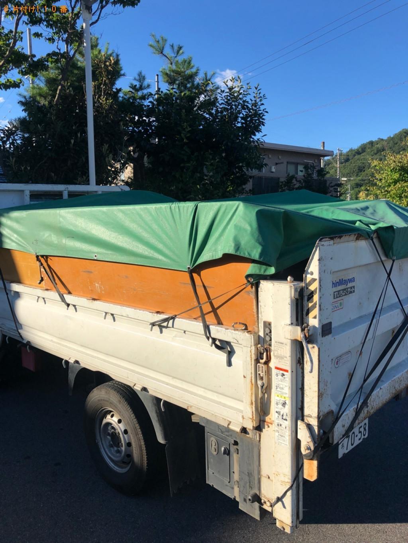 【安曇野市】洗濯機、こたつ、パイプベッド、衣類等の回収・処分