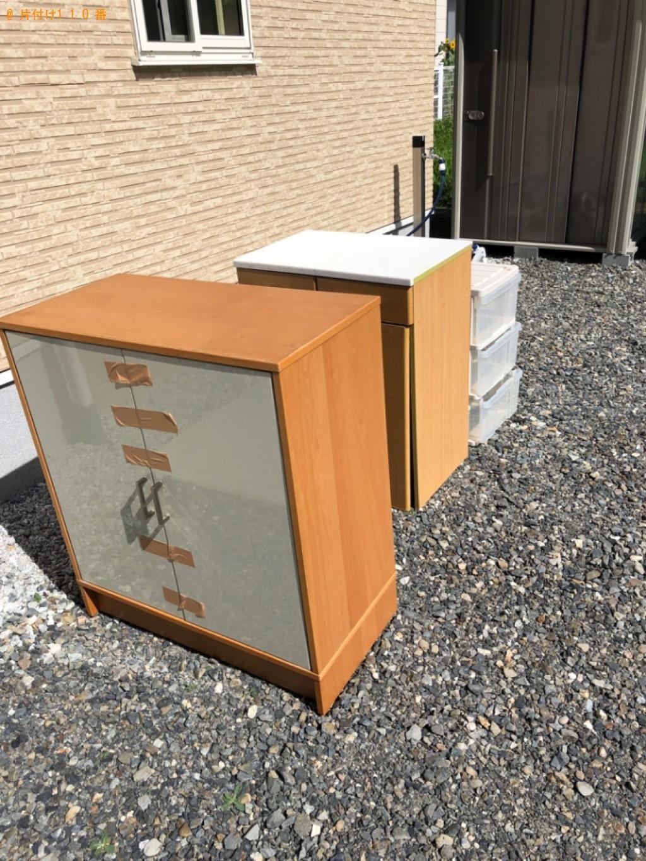 【松本市】本棚、ゴミ箱、布団、衣装ケースの回収・処分ご依頼