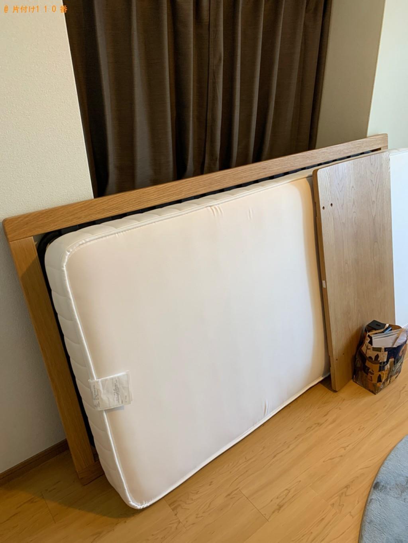 【上田市】シングルベッド、ベッドマットレスの回収・処分ご依頼