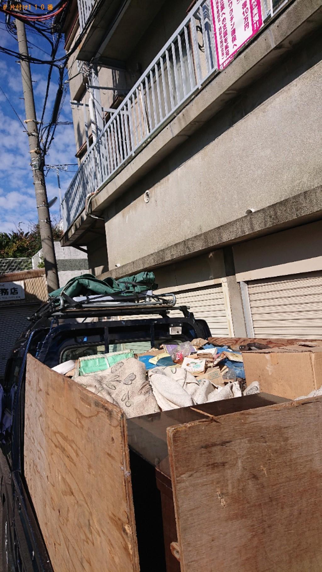 【上田市】植木鉢、ダンボール等の回収とハウスクリーニングご依頼