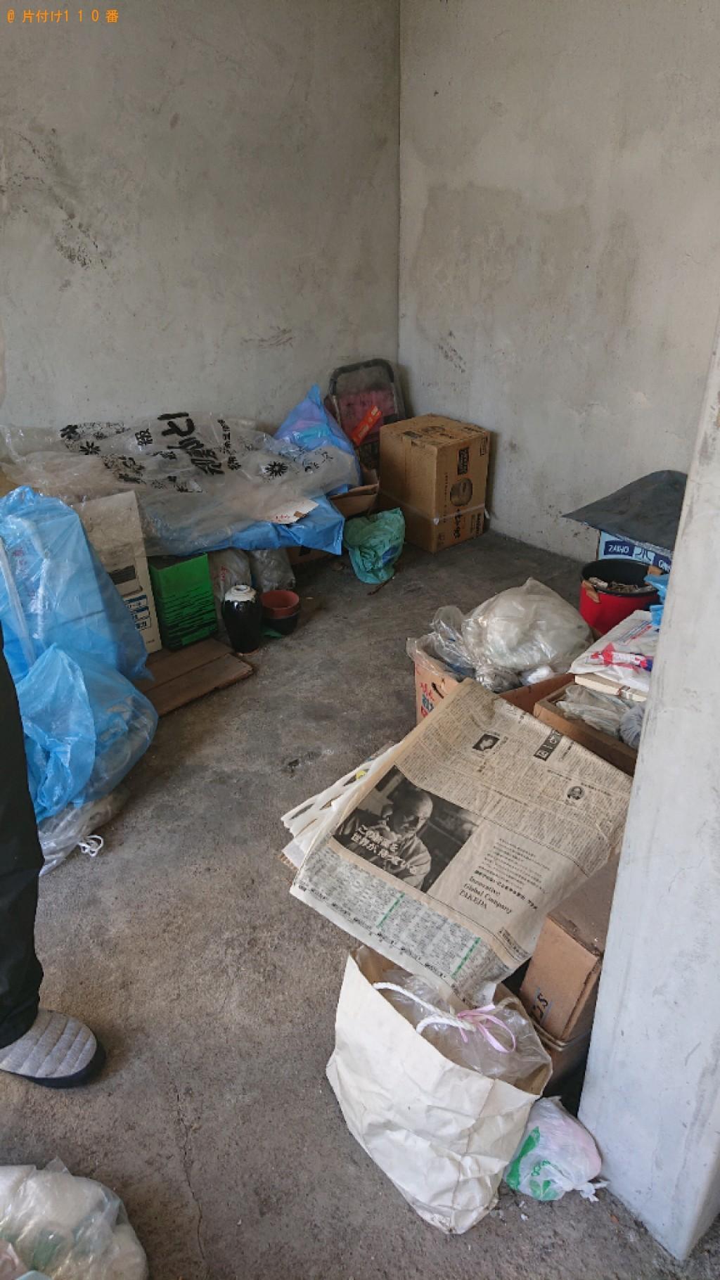【長野市】植木鉢、ダンボール等の回収とハウスクリーニングご依頼
