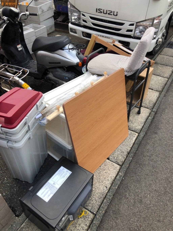 【長野市】こたつ、本棚、シングルベッド、カラーボックスの回収