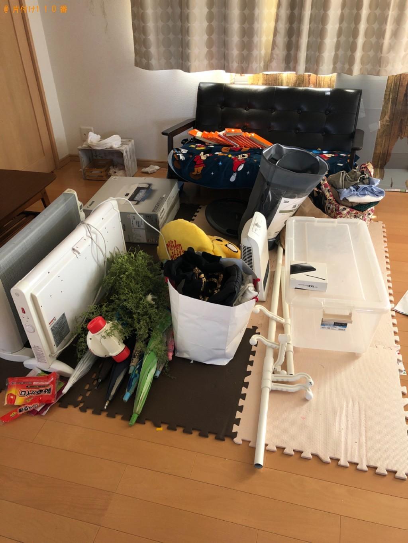 【塩尻市】ソファー、収納ケース、家電、衣類等の回収・処分ご依頼