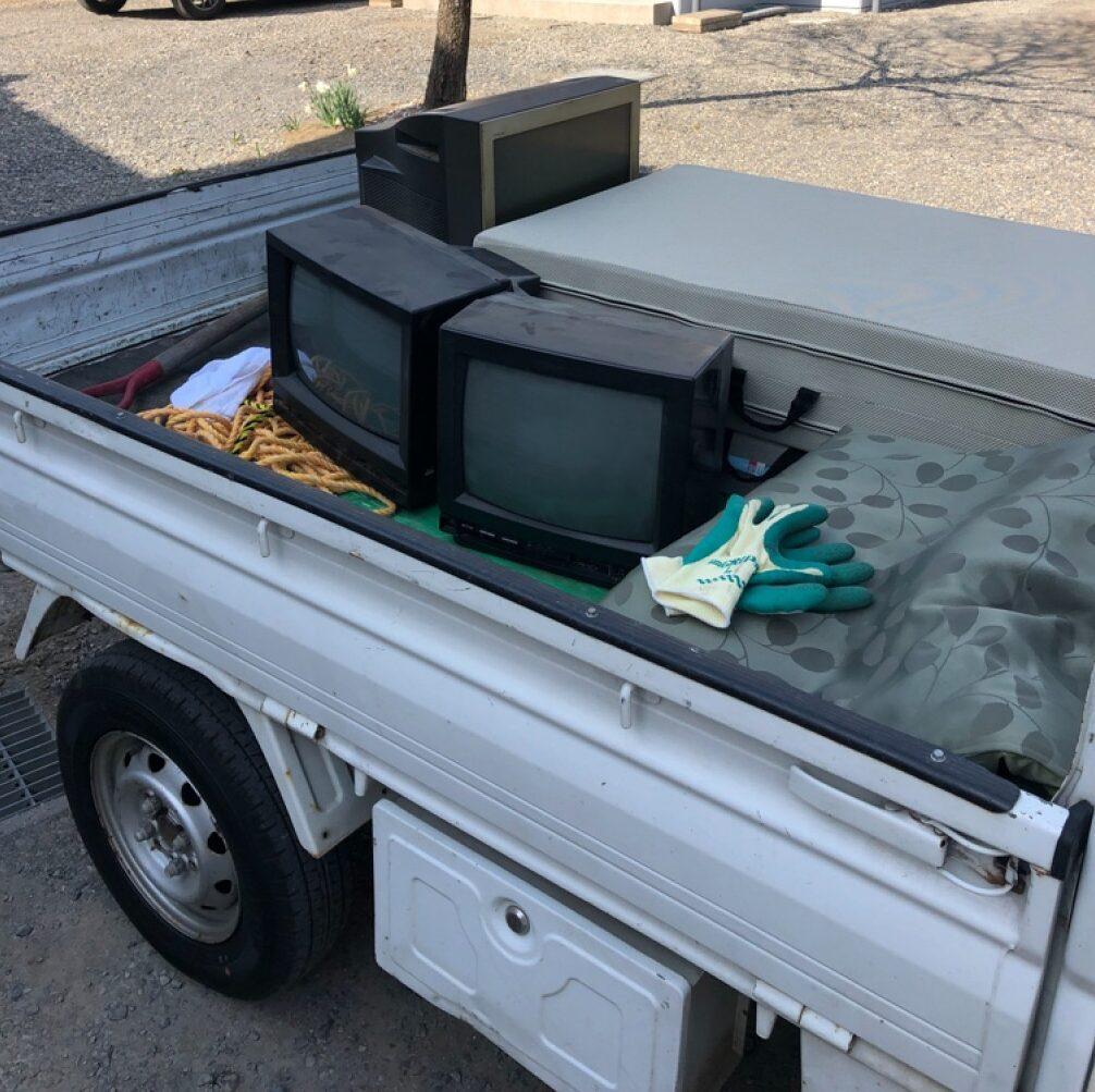 【松本市】テレビの回収・処分ご依頼 お客様の声