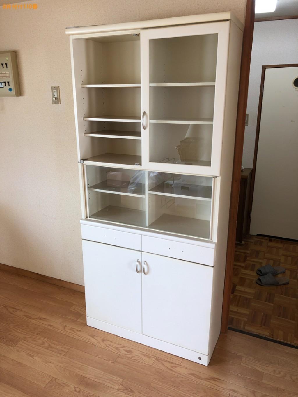 【松本市】食器棚、二人掛けソファー、食品、中身入りのビン等の回収