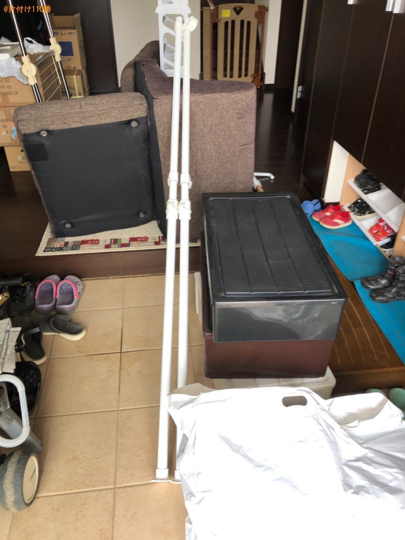 【松本市】簡易ソファー、衣装ケース、健康器具等の回収・処分ご依頼