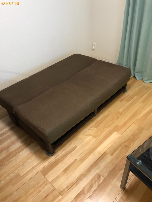 【松本市】ソファーベッド、テーブルの回収・処分ご依頼 お客様の声